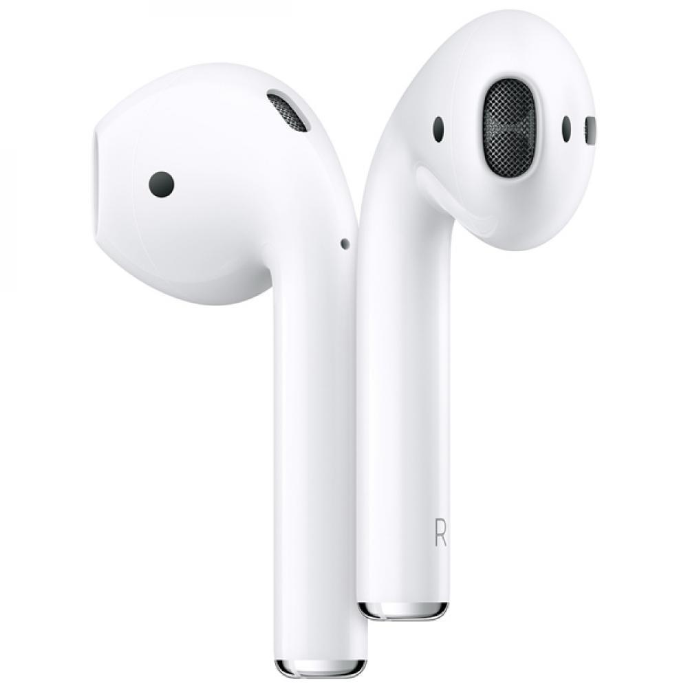 Беспроводные блютуз наушники Apple AirPods 2 (без функции беспроводной зарядки чехла)