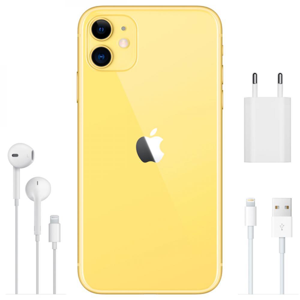 Смартфон Apple iPhone 11 64GB Yellow