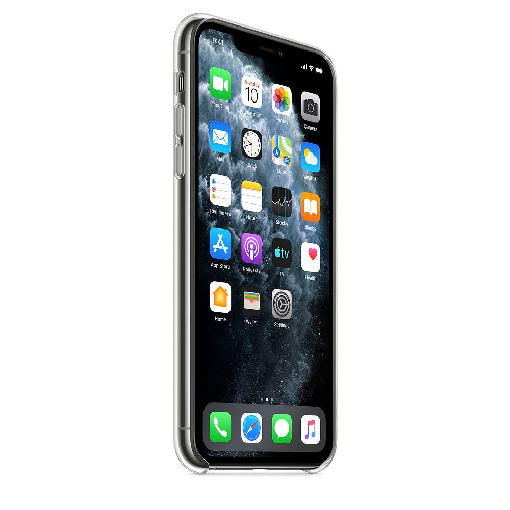 Прозрачный чехол для iPhone 11 Pro Max