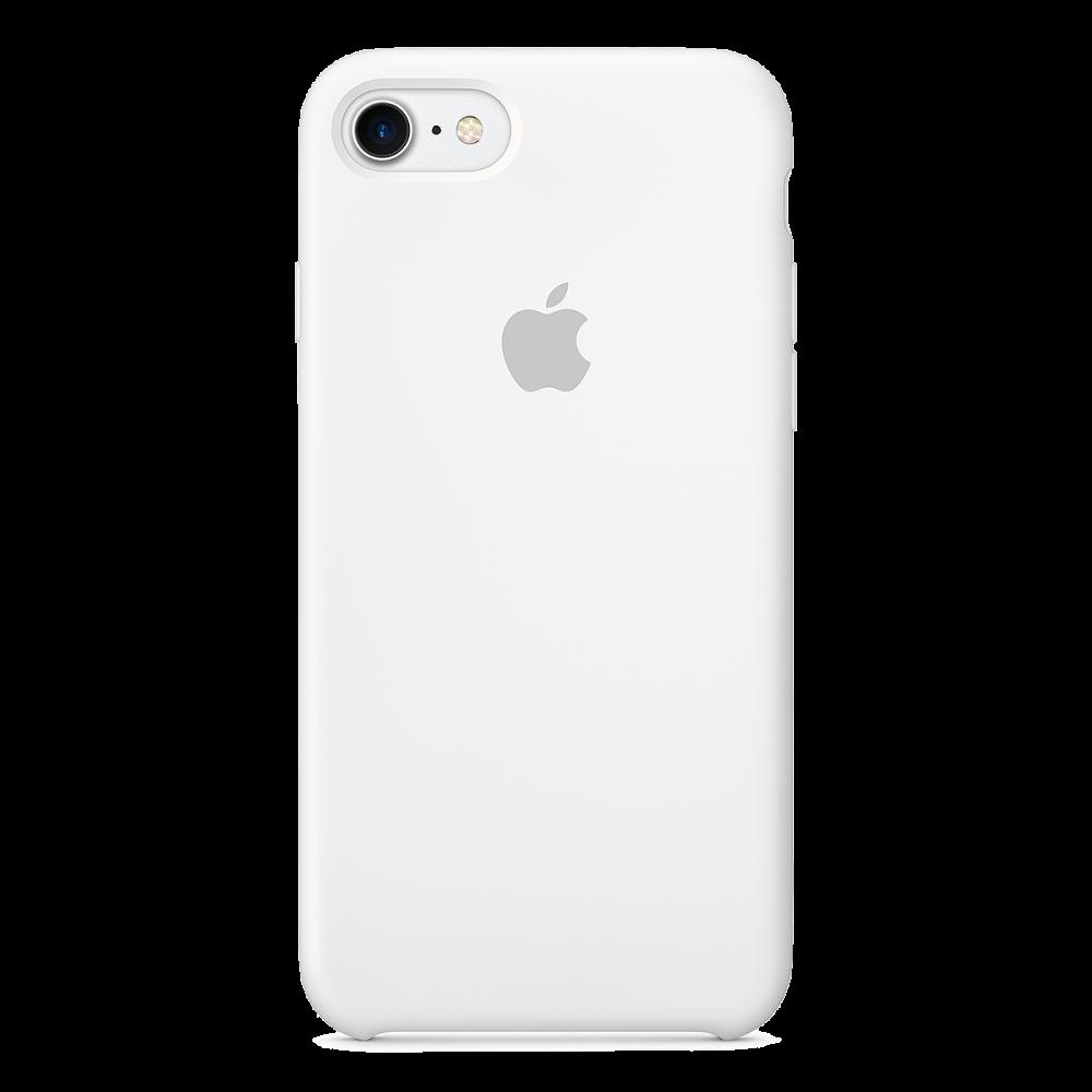 iPhone 8/7 Силиконовый чехол - Белый