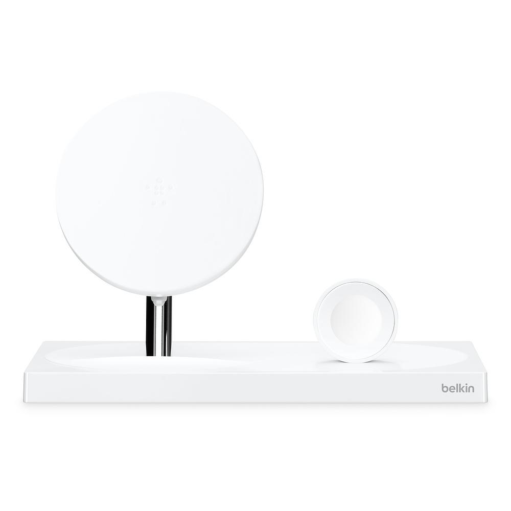 Беспроводная док-станция Belkin Boost Up F8J234myBLK-APL для iPhone/Apple Watch, White
