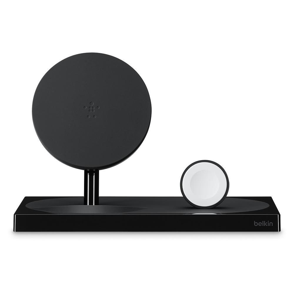 Беспроводная док-станция Belkin Boost Up F8J234myBLK-APL для iPhone/Apple Watch, Black