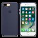 iPhone 8 Plus / 7 Plus Cиликоновый чехол - темно синий.