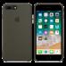 Силиконовый чехол iPhone 8 Plus / 7 Plus - Темный оливковый зеленый.