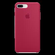 iPhone 8 Plus / 7 Plus силиконовый чехол - вишневый