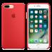 iPhone 8 Plus / 7 Plus Cиликоновый чехол - красный.