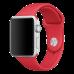 Ремешок Apple Watch 38мм, спортивный красный