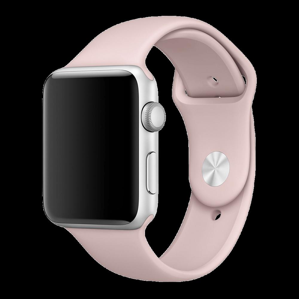 Ремешок Apple Watch 38мм, спортивный «розовый песок»