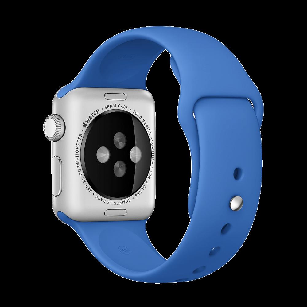 Ремешок Apple Watch 38мм, спортивный «кобальт»