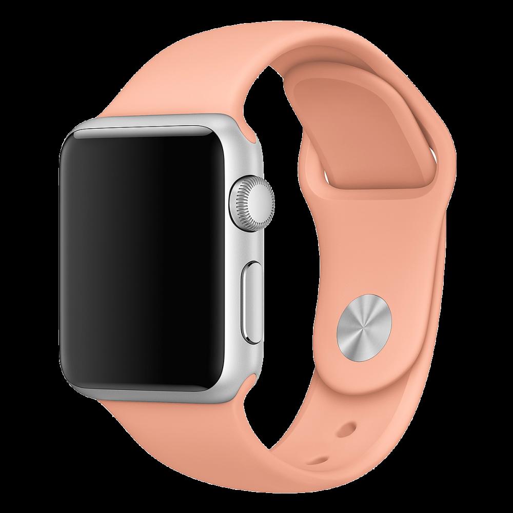 Ремешок Apple Watch 42мм, спортивный «розовый фламинго»