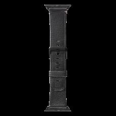 Ремешок Decoded для Apple Watch 42 мм, кожаный, черный
