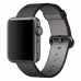 Ремешок Apple Watch 38мм, из плетеного нейлона - черный
