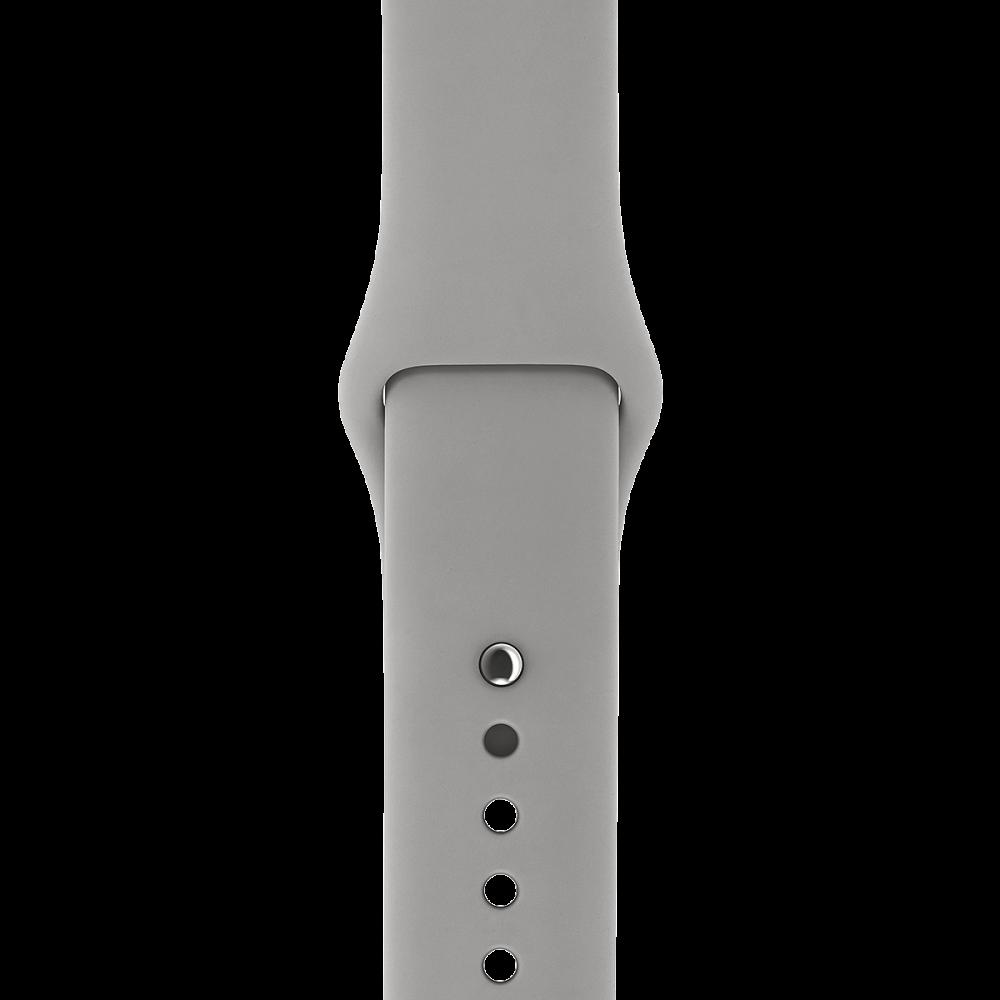Ремешок Apple Watch 38мм, спортивный «серый камень»