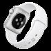 Ремешок Apple Watch 42мм, спортивный белый