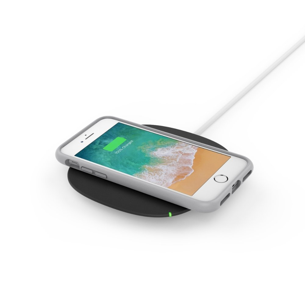 Беспроводное зарядное устройство Belkin BOOST UP Qi 1А, черное