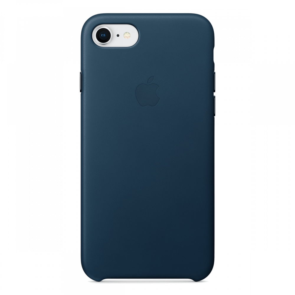 iPhone 8/7 Кожаный чехол - Cosmos blue