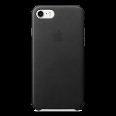 iPhone 8/7 Кожаный чехол - черный