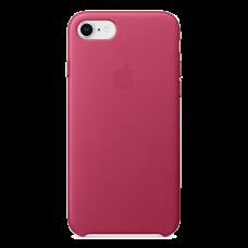 iPhone 8/7 Кожаный чехол - Фуксия розовый