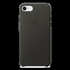 iPhone 8/7 Кожаный чехол - серый