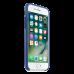 iPhone 8/7 кожаный чехол, сапфир синий