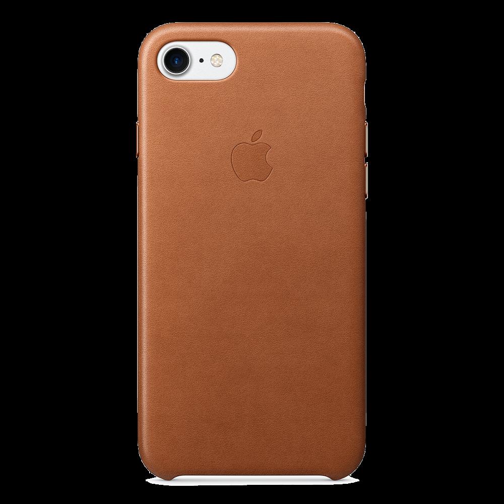 iPhone 8/7 Кожаный чехол - коричневый