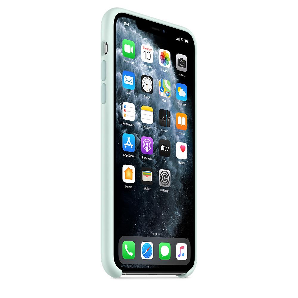 Силиконовый чехол Silicone Case для iPhone 11 Pro Max, Морская пена