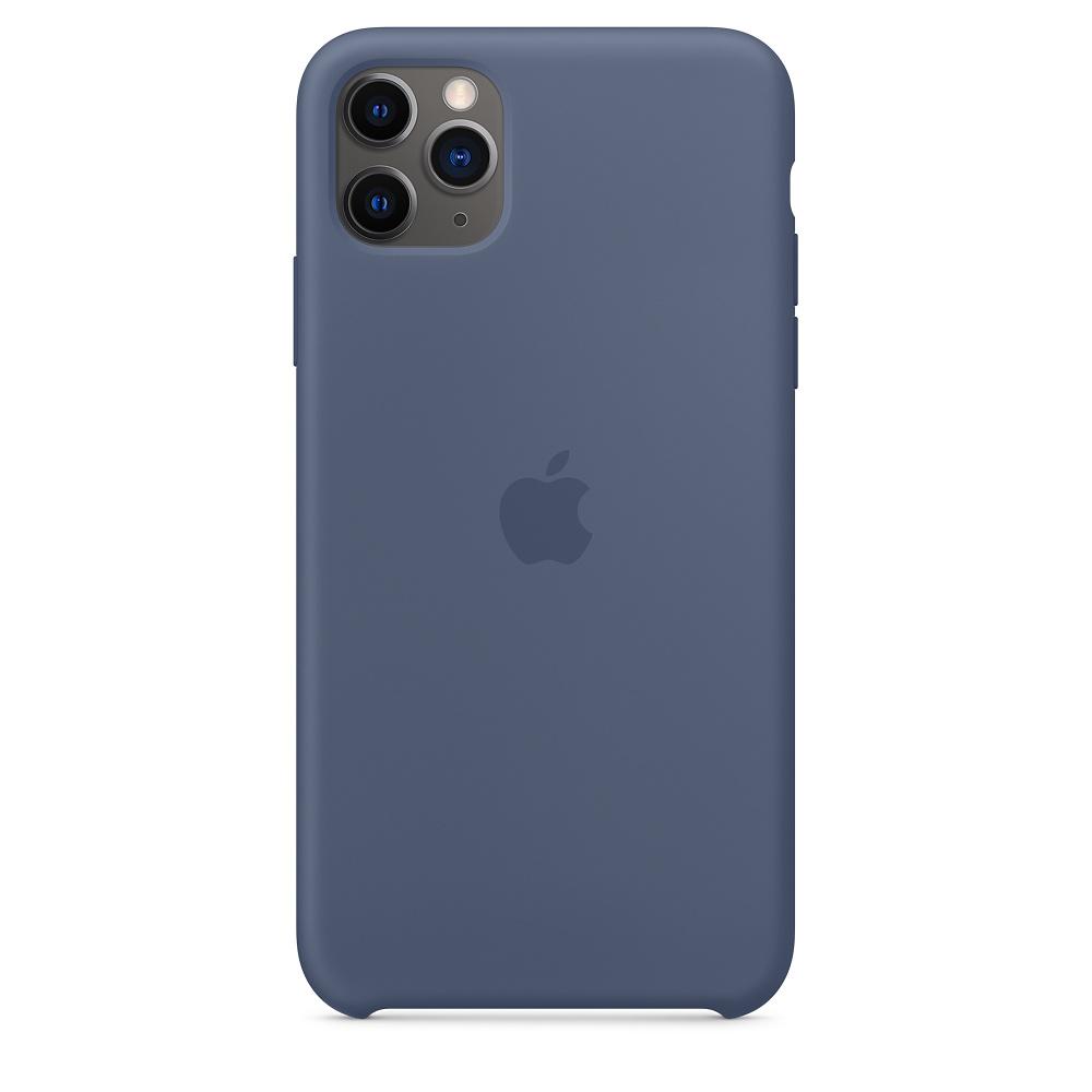Силиконовый чехол Silicone Case для iPhone 11 Pro Max, Морской лёд
