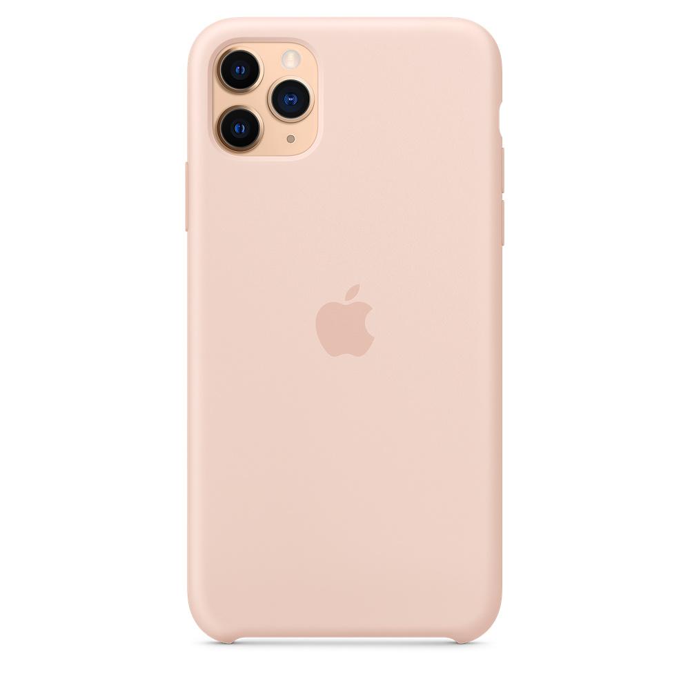 Силиконовый чехол Silicone Case для iPhone 11 Pro Max, Розовый песок