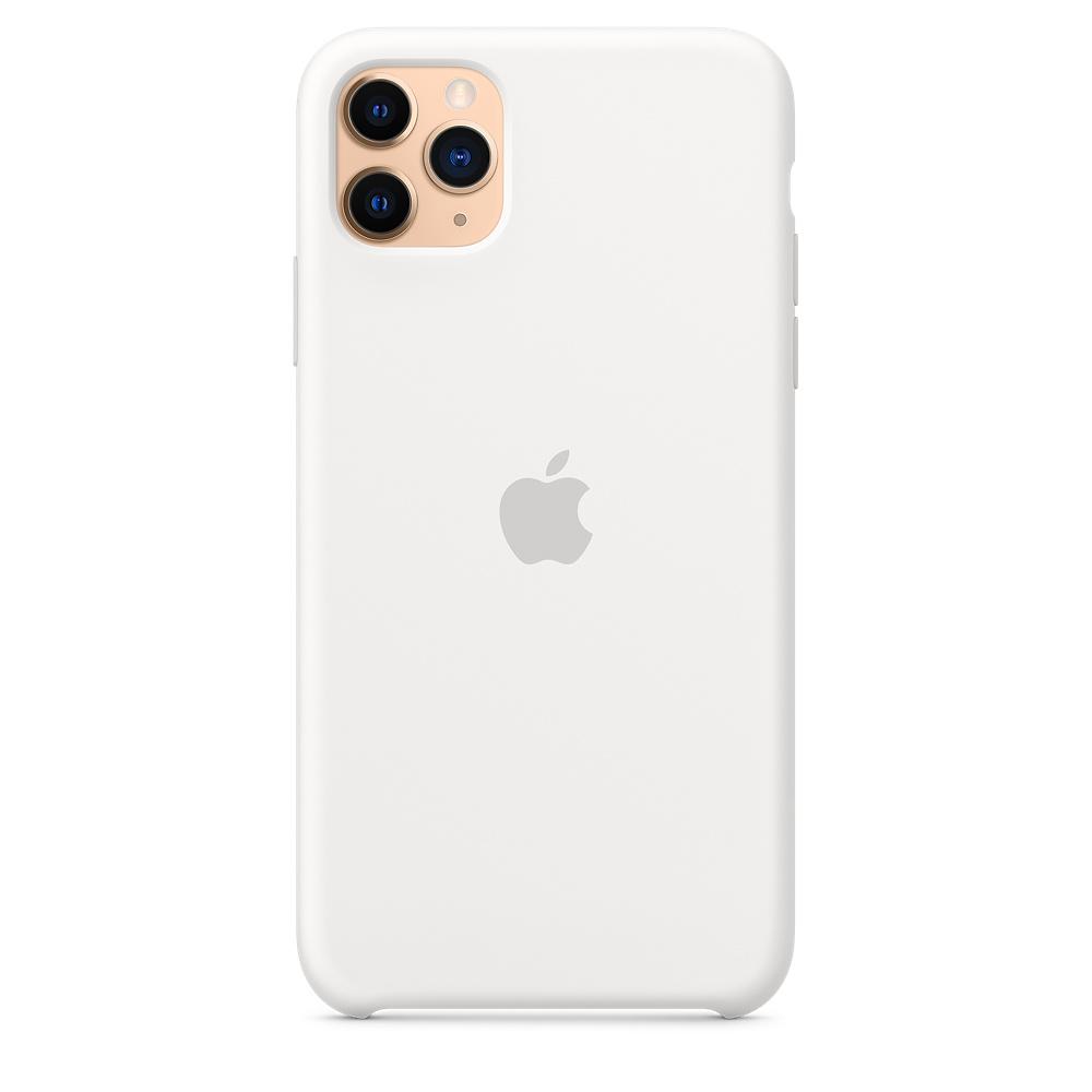 Силиконовый чехол Silicone Case для iPhone 11 Pro Max, Белый