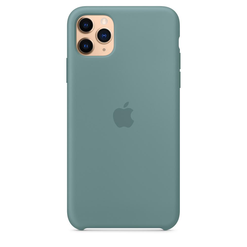 Силиконовый чехол Silicone Case для iPhone 11 Pro Max, Дикий кактус