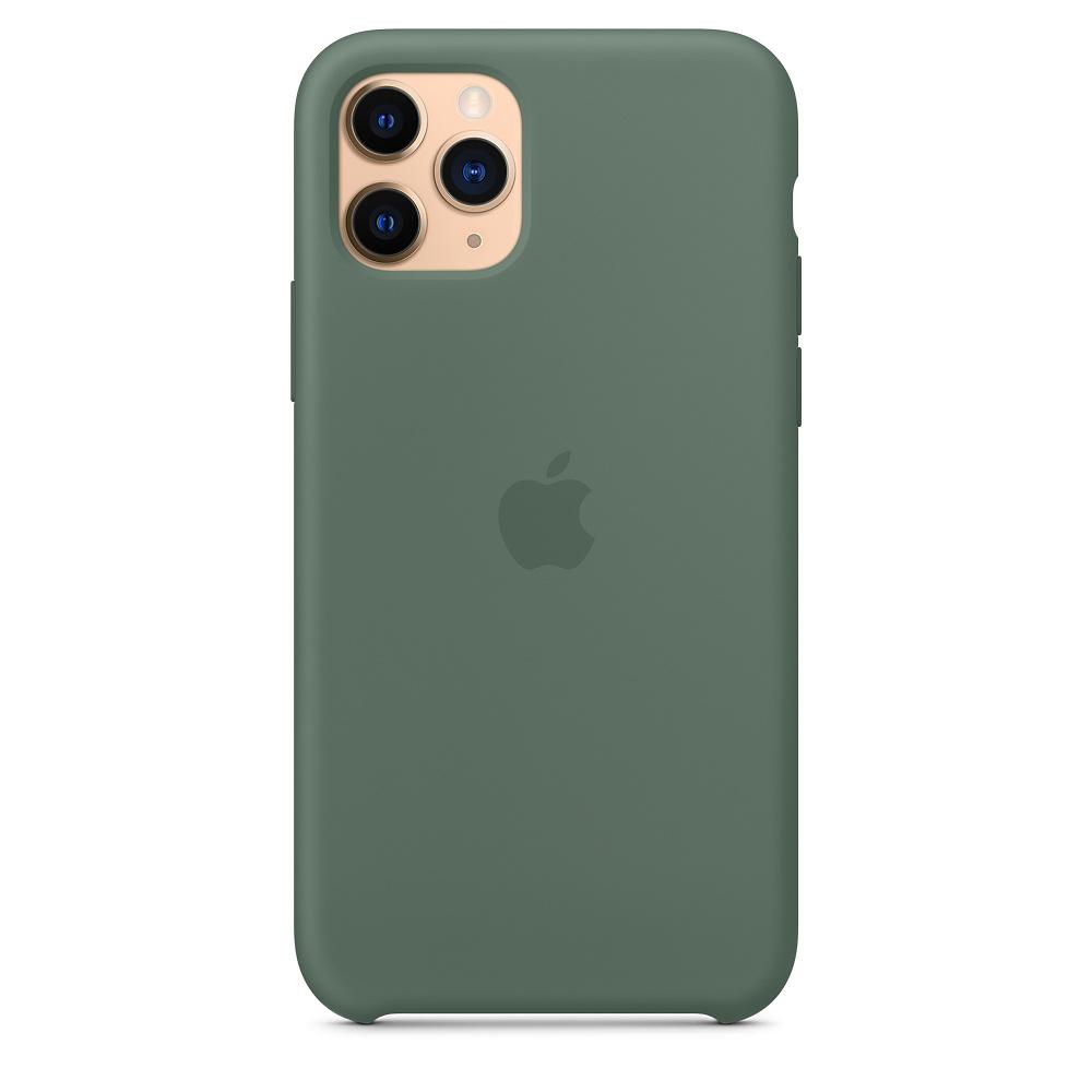 Силиконовый чехол Silicone Case для iPhone 11 Pro, Сосновый лес