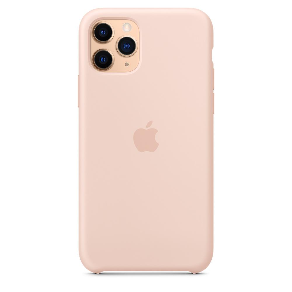 Силиконовый чехол Silicone Case для iPhone 11 Pro, Розовый песок