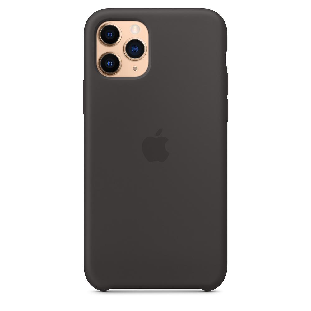 Силиконовый чехол Silicone Case для iPhone 11 Pro, Чёрный