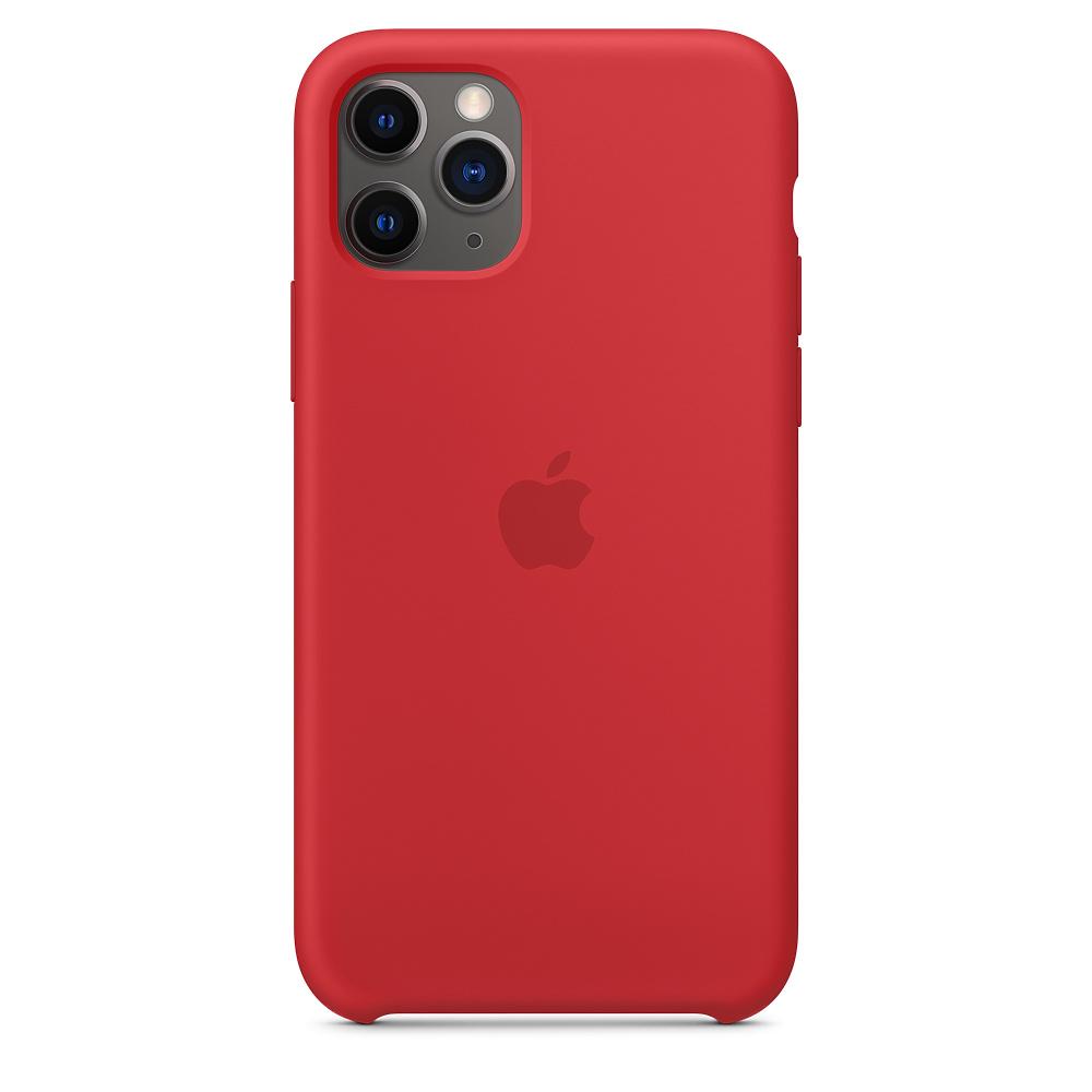 Силиконовый чехол Silicone Case для iPhone 11 Pro, Красный