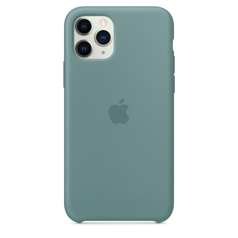 Силиконовый чехол Silicone Case для iPhone 11 Pro, Дикий кактус