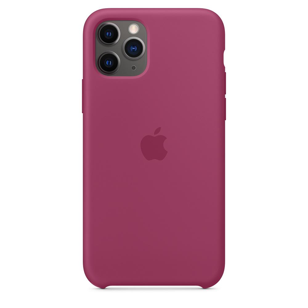 Силиконовый чехол Silicone Case для iPhone 11 Pro, Сочный гранат