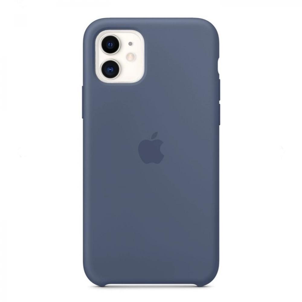 Силиконовый чехол Silicone Case для iPhone 11, Морской лёд