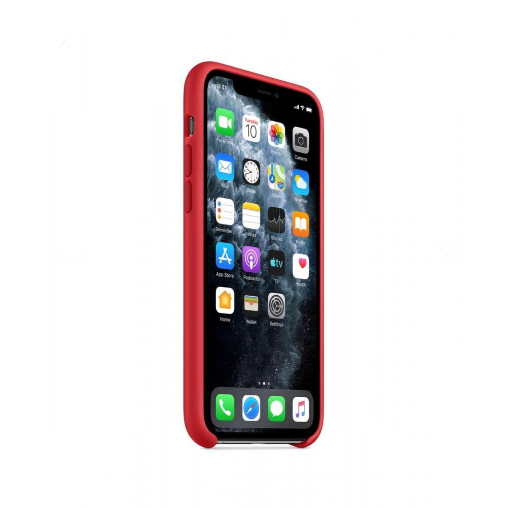 Силиконовый чехол Silicone Case для iPhone 11, Красный