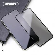 Защитное стекло Remax 3D на экран для iPhone Xr/SE/11/11 Pro/11 Pro max - черное