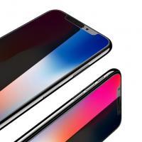 Защитное закаленное стекло 5D на экран для iPhone X/Xr/Xs/XsMax  - черное