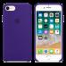 iPhone 8/7 Силиконовый чехол - фиолетовый