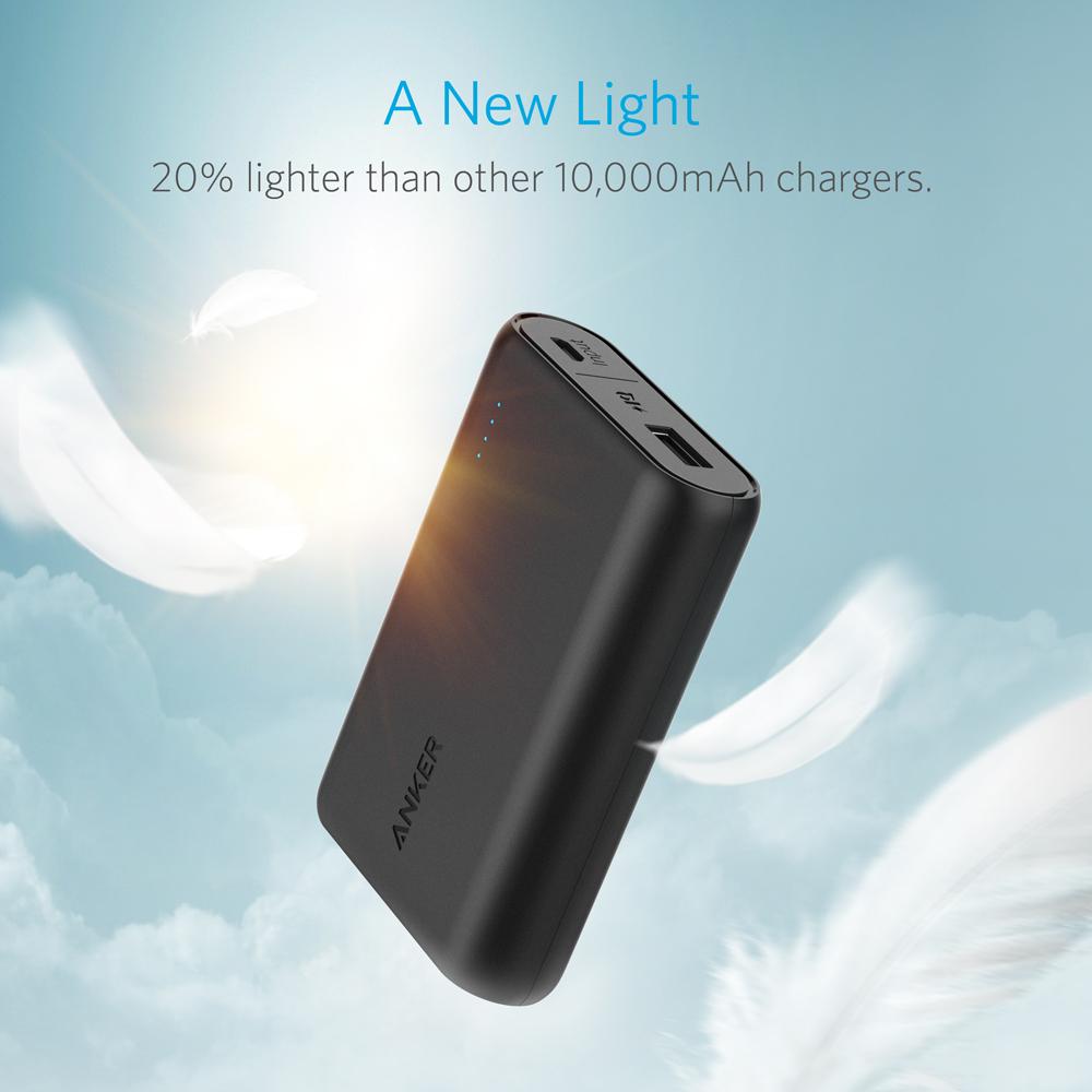 Внешний аккумулятор Anker PowerCore 10000 mAh Black