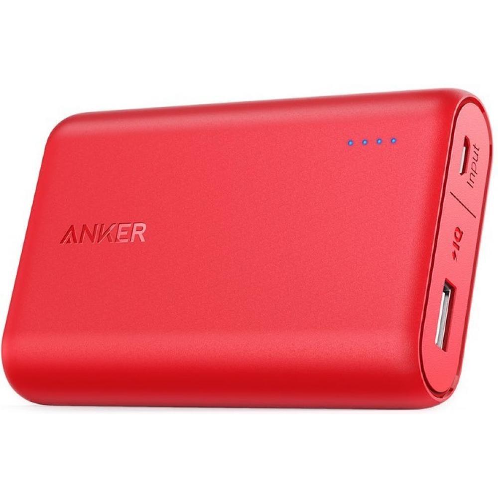 Внешний аккумулятор Anker PowerCore 10000 mAh Red