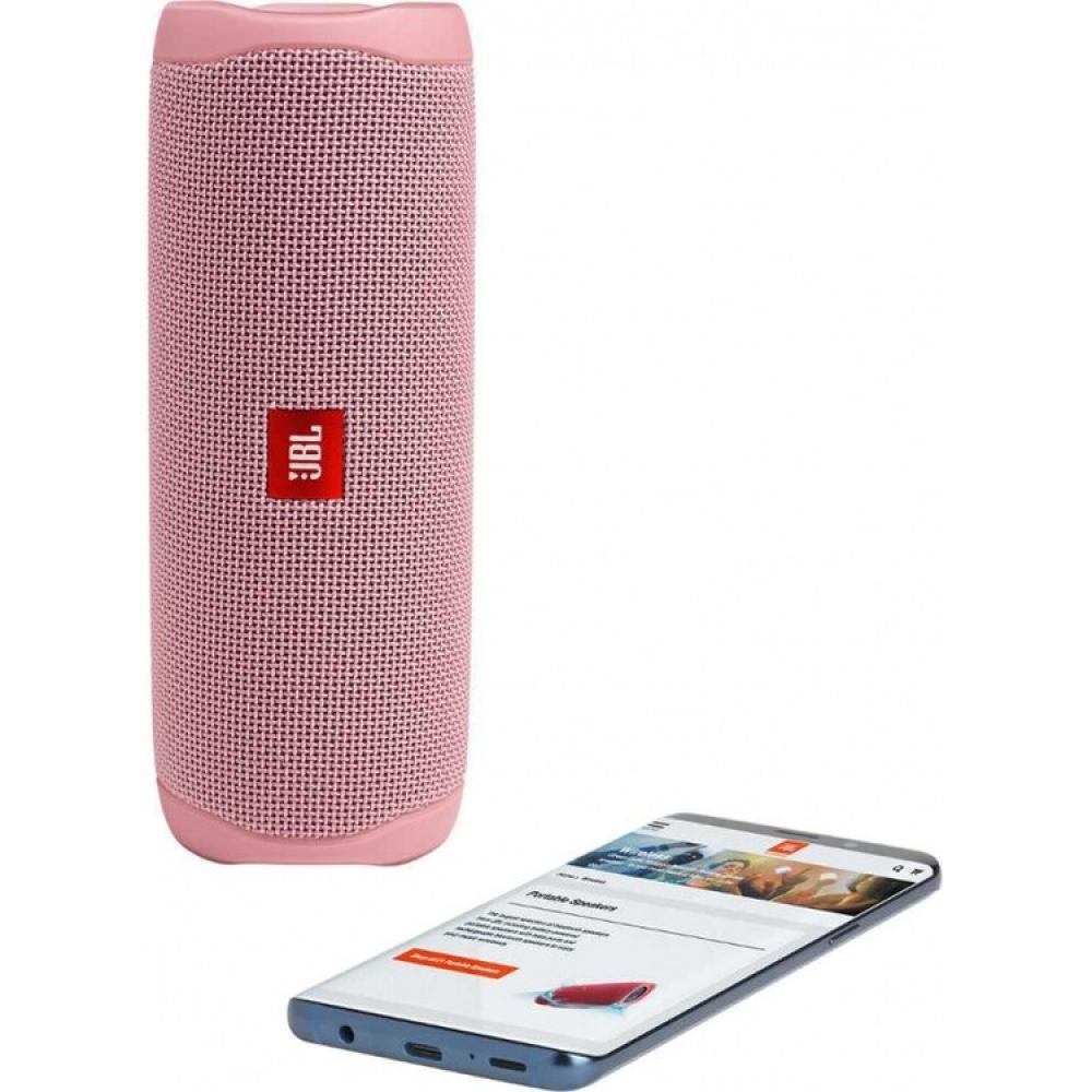 Портативная колонка JBL Flip 5, розовый