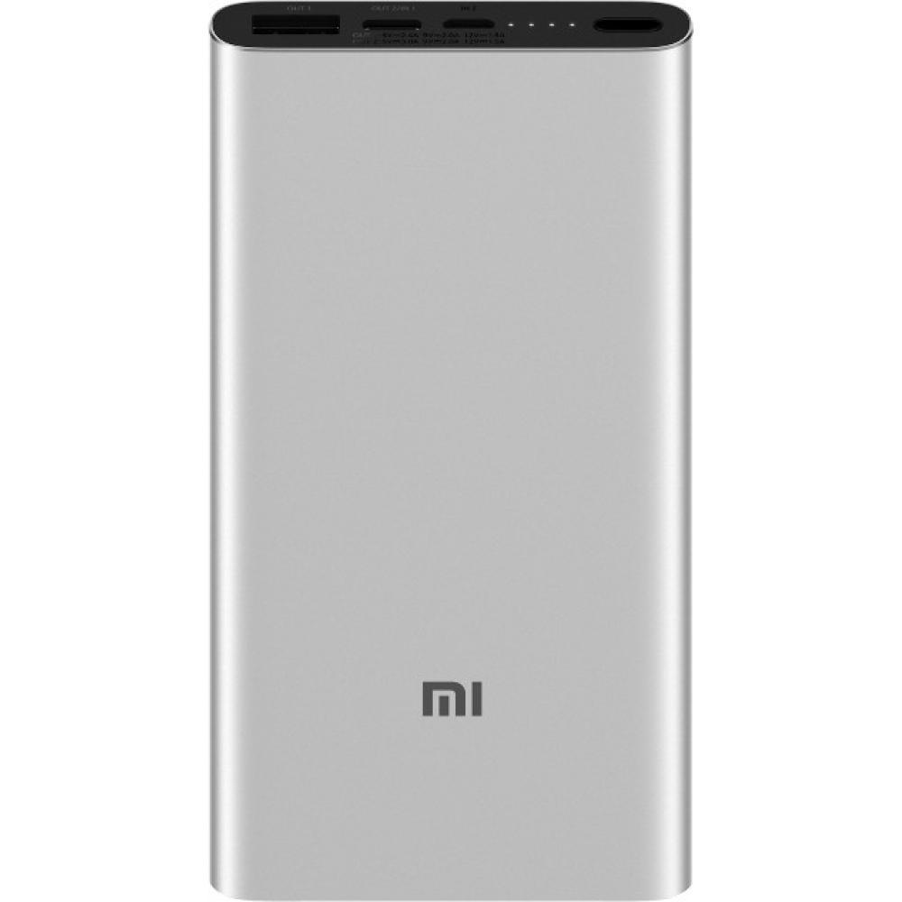 Внешний аккумулятор Xiaomi Mi Power Bank 3 10000 mAч Silver