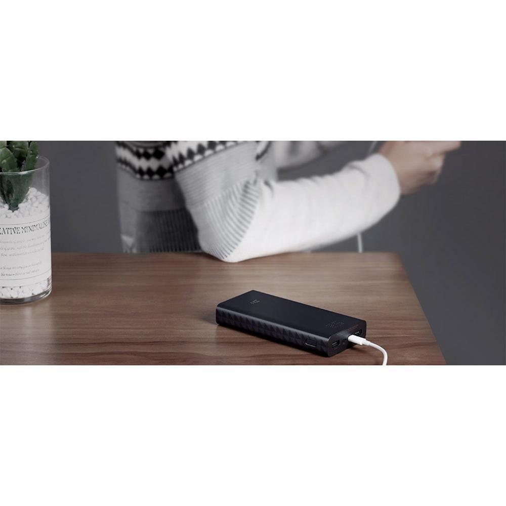 Внешний аккумулятор Xiaomi Zmi Power Bank Aura 20000 mAh Black